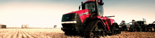 Case Tractor Banner